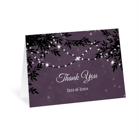 String of Lights - Thank You Card