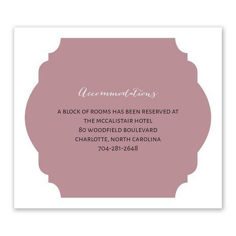 Photo Screen - Information Card