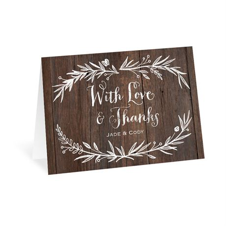 Ever After - Thank You Card