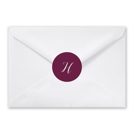 Our Monogram - Envelope Seal