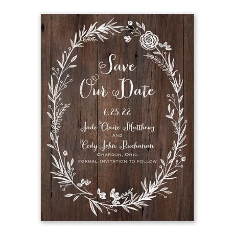 Ever After Save The Date