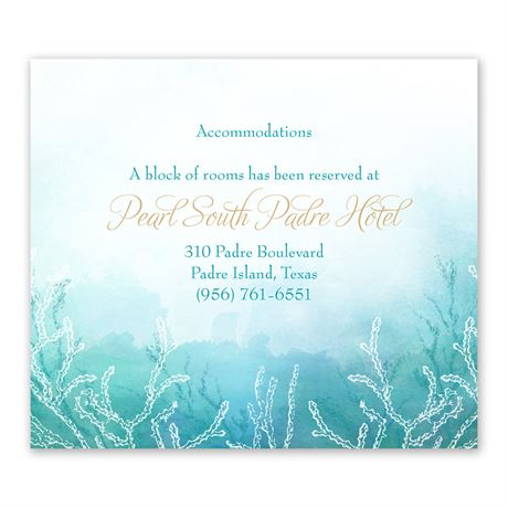 Ocean Dream Information Card