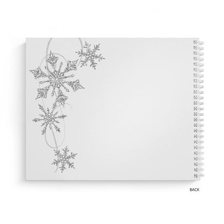Snowflake Sparkle - Guest Book