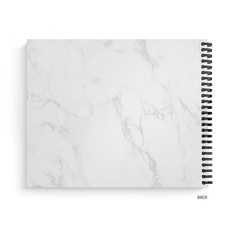 Marble Frame - Guest Book