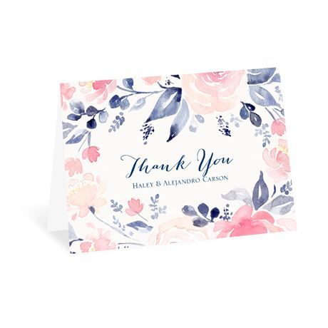 Blooms Abound Thank You Card