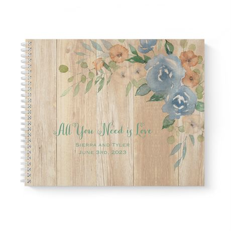 Country Blooms - Guest Book