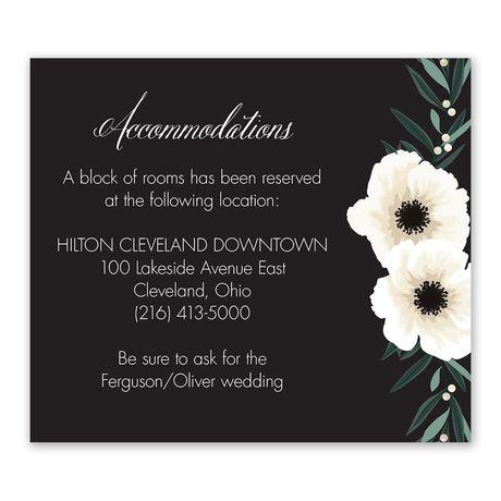 Anemone Blossom - Information Card