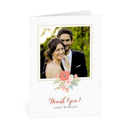 Pretty Posies - Thank You Card