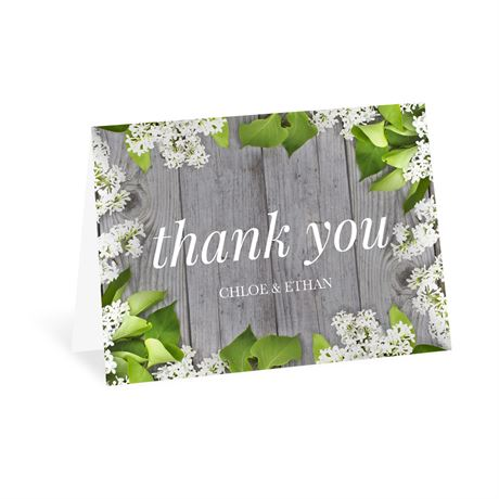 Spring Floret Thank You Card