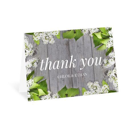 Spring Floret - Thank You Card