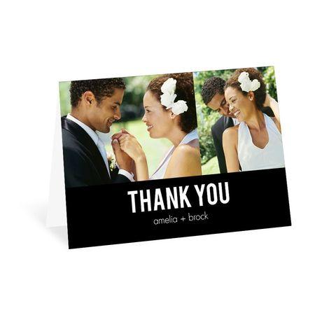 Minimalist Modern - Thank You Card
