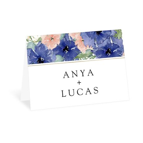 Painted Blooms - Thank You Card