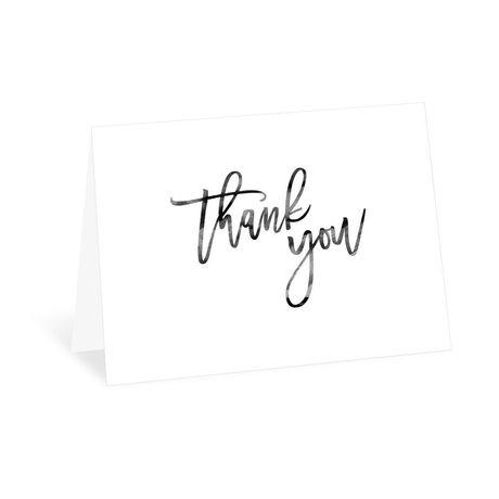 Simplicity - Thank You Card