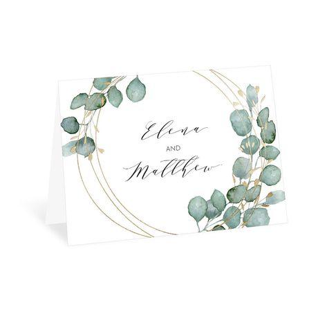 Eternity Thank You Card