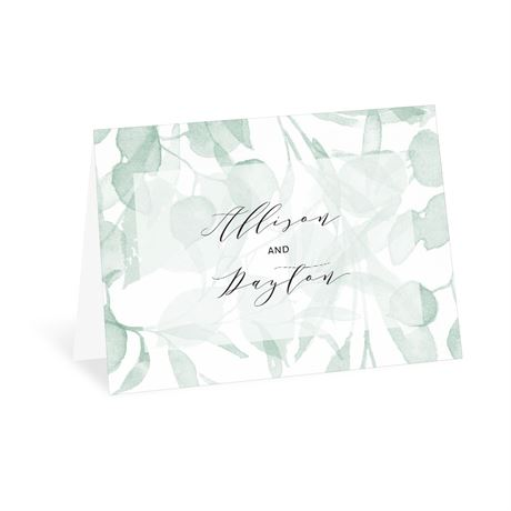 Subdued - Thank You Card