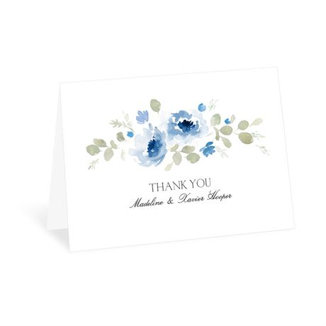 Petite Blooms - Aegean - Thank You Card