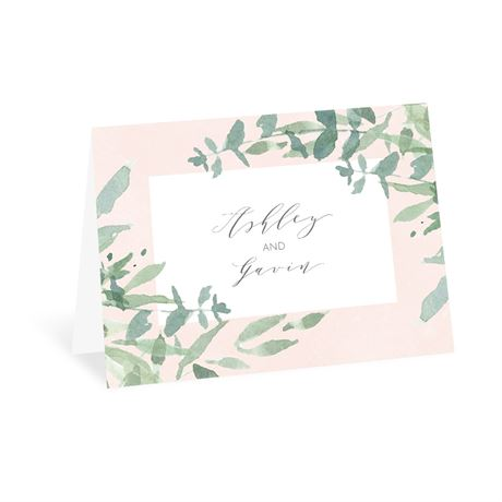 Watercolor Myrtle - Thank You Card