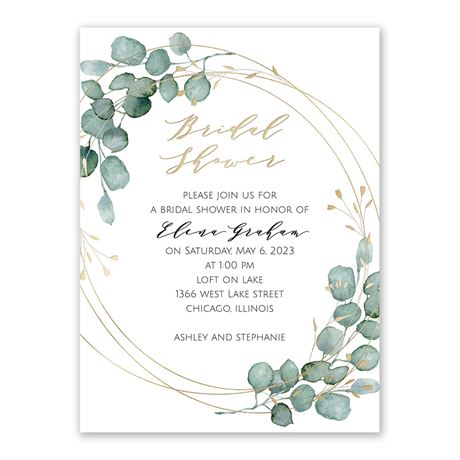 Eternity Bridal Shower Invitation