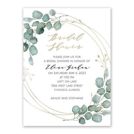 Eternity - Bridal Shower Invitation