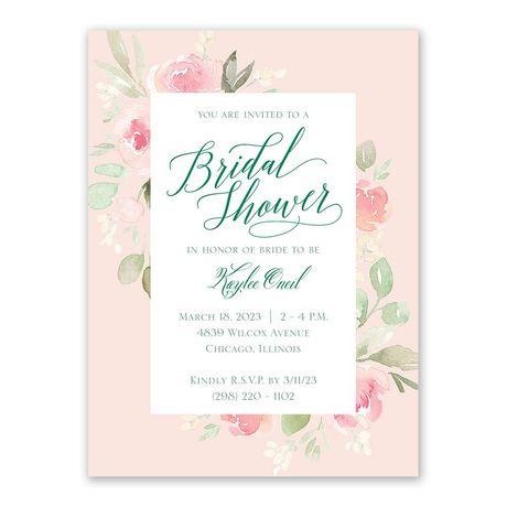 Garden Girl - Bridal Shower Invitation