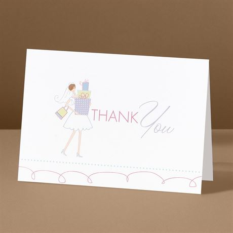 All Set  Bridal Shower Thank You Card