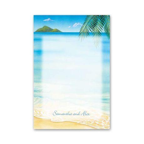 Ocean View  Thank You Postcard