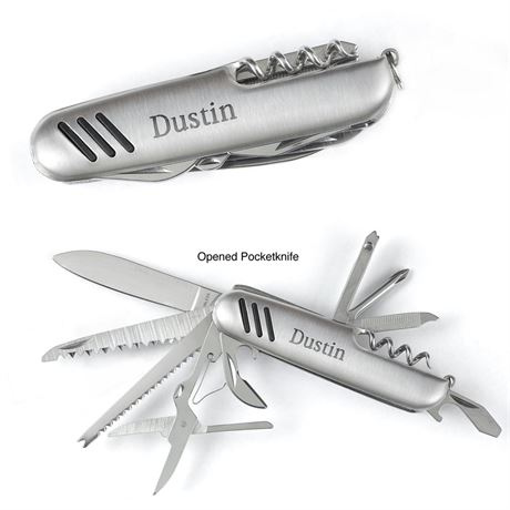 Silver Plated Pocketknife