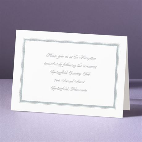 Appealing Borders  Reception Card