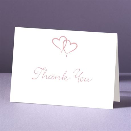 Sweet Hearts  Thank You Card and Envelope