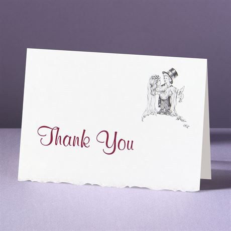 Days of Innocence  Thank You Card and Envelope