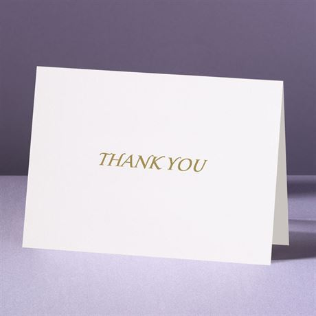 Ring of Love  Thank You Card and Envelope
