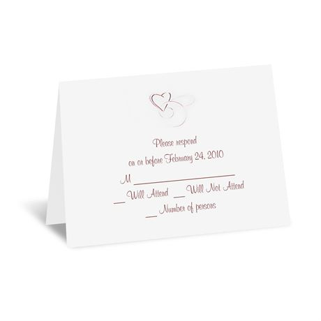 Skipped A Beat - Response Card and Envelope