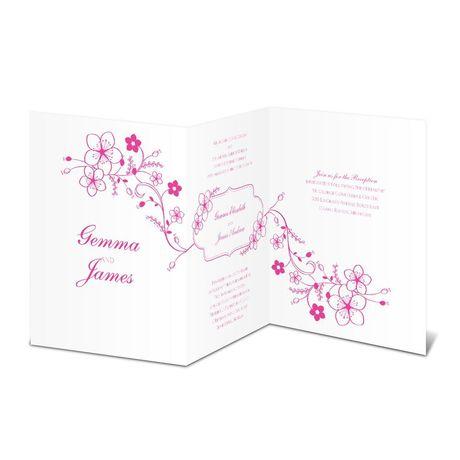 Trail of Blossoms  Invitation