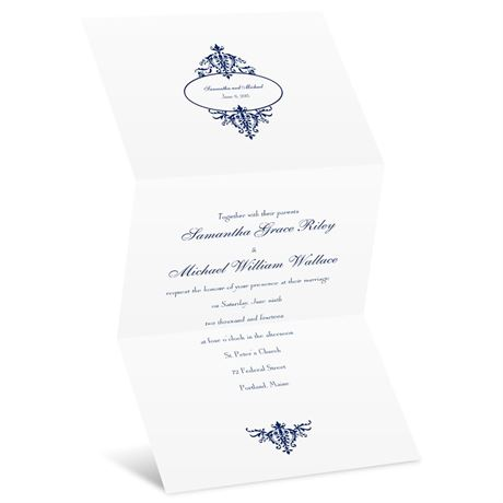 Pure Sophistication  Invitation