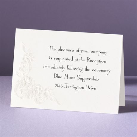 Union of Our Hearts  Reception Card