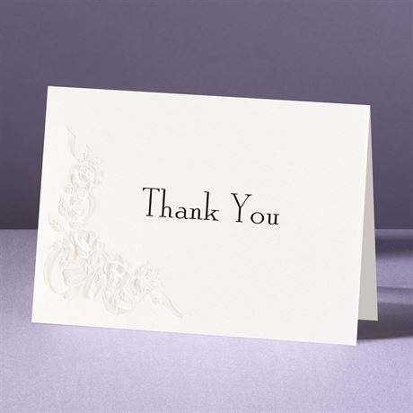 Union of Our Hearts  Thank You Card and Envelope