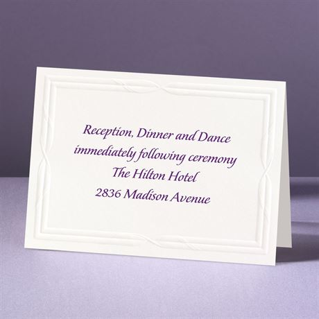 Intertwined Affection  Reception Card