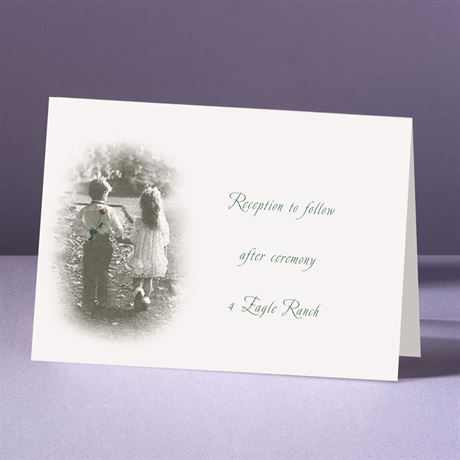 Young Love  Reception Card