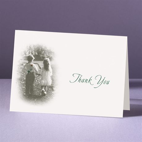Young Love Thank You Card and Envelope