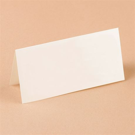 Natural White Design Place Card