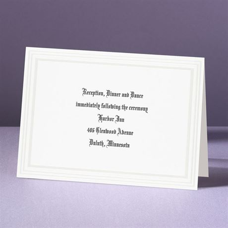 Snow White  Reception Card