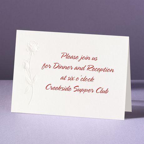 Best Buds  Reception Card