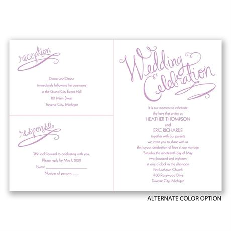 Doodled Delight - Separate and Send Invitation