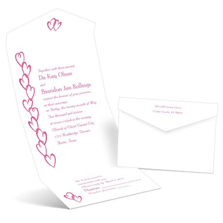 Chain of Hearts  Seal and Send Invitation