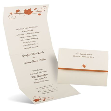 Copper Creations  Seal and Send Invitation
