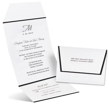 Formal Affair Seal and Send Invitation