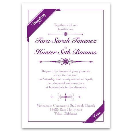 Pretty Details Invitation