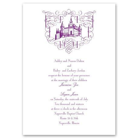 Fairy Tale Romance Invitation