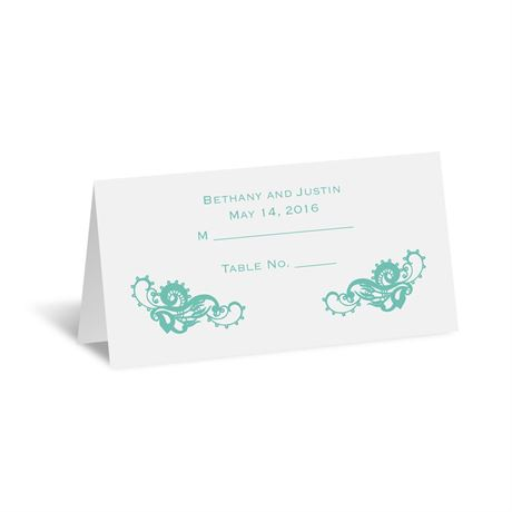 Lovely Lace Place Card