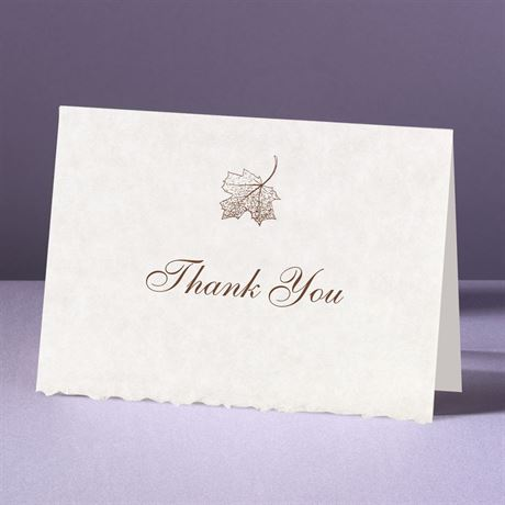 Falling In Love Thank You Card and Envelope